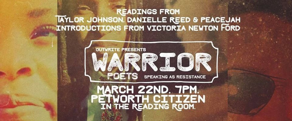 Warrior Poets: Speaking as Resistance