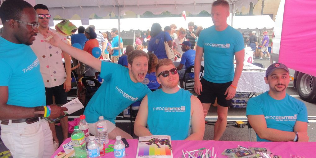 Volunteer with The DC Center at the Capital Pride Festival