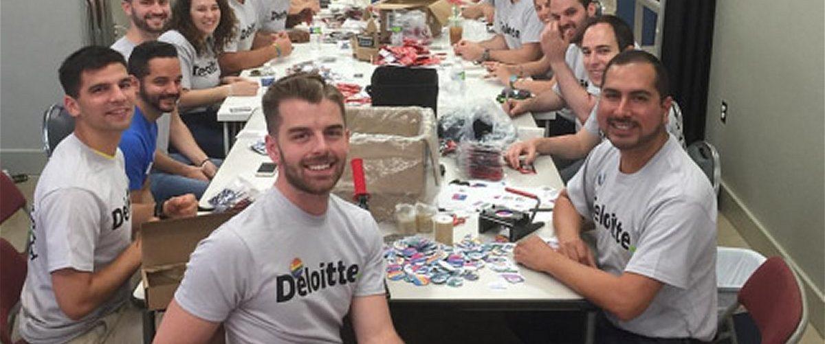 Deloitte Employee Day of Service