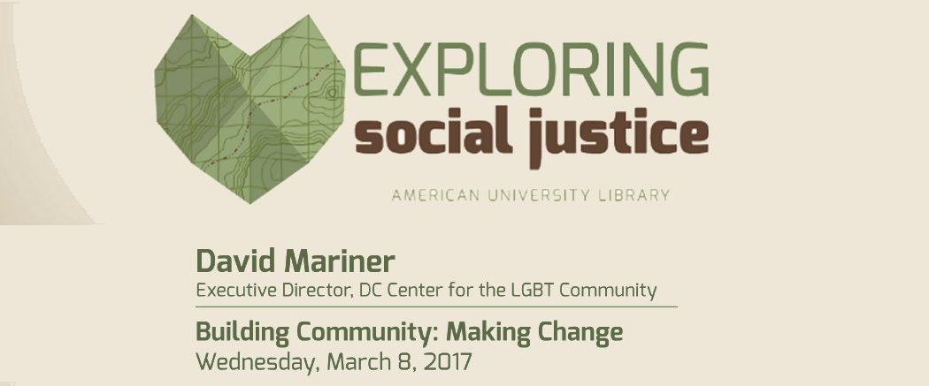 Exploring Social Justice Series at American University