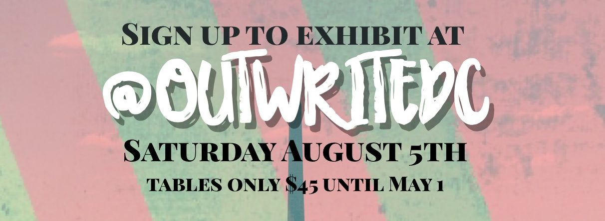 OutWrite Exhibitor EarlyBird Rate
