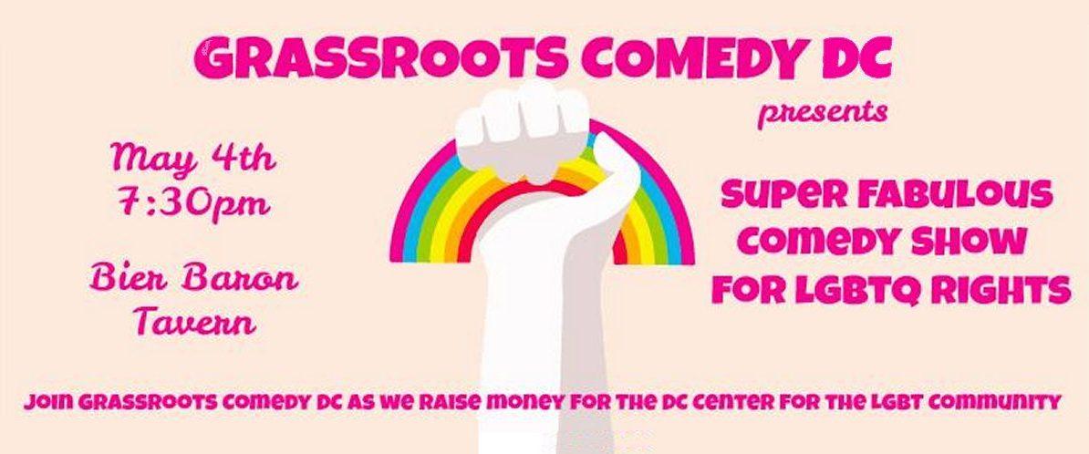 Volunteers Needed: Super Fabulous Comedy Show 5/4
