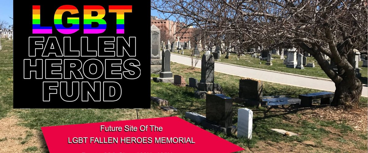 LGBT Memorial Planned for National Cemetery