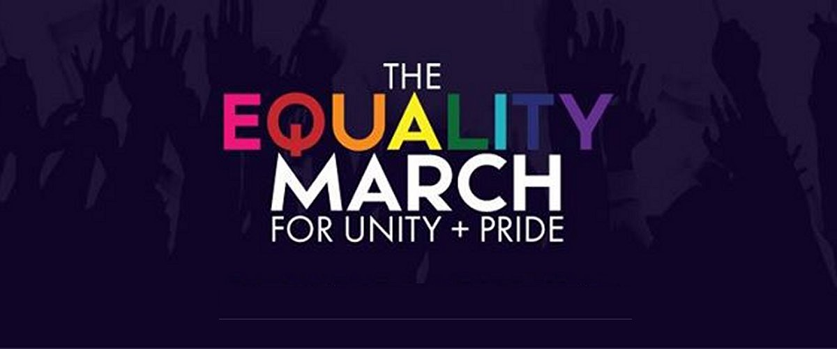 Equality March for LGBT Unity and Pride
