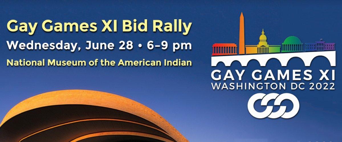 Gay Games XI Bid Rally