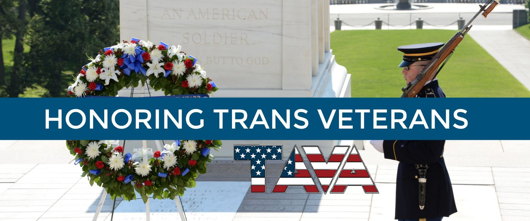 Trans Veterans Wreath Laying Ceremony