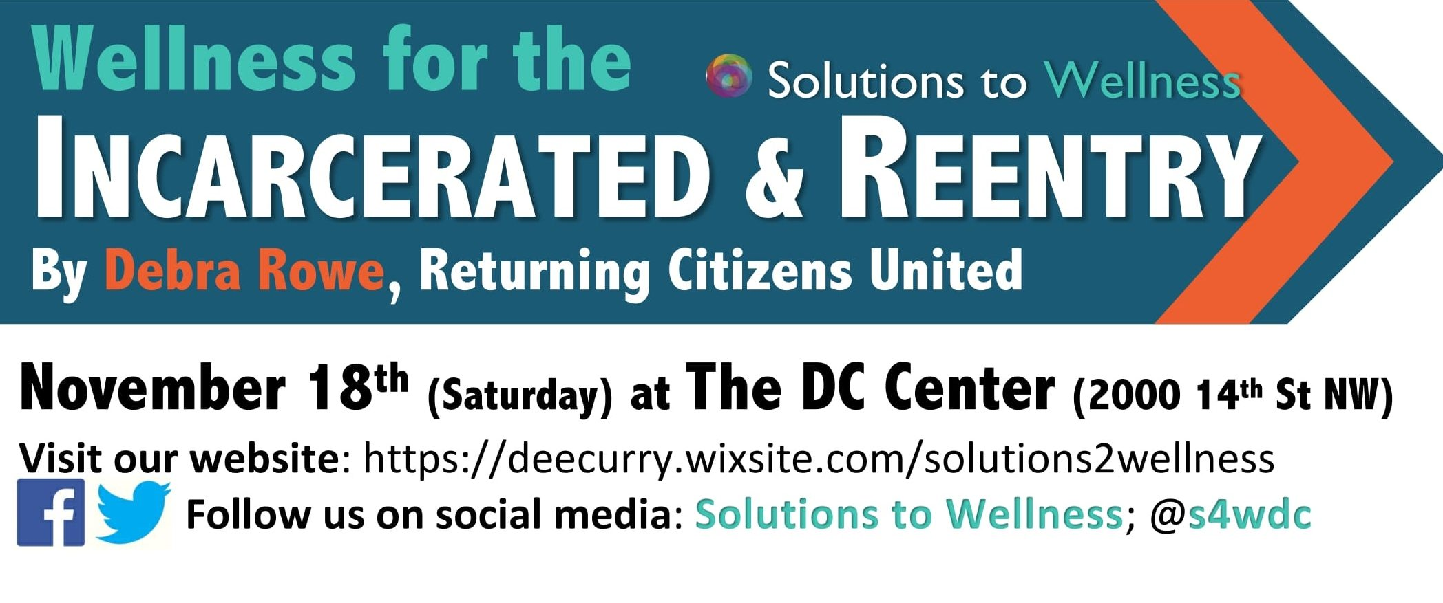 Wellness for the Incarcerated & Reentry [Solutions to Wellness 2017]