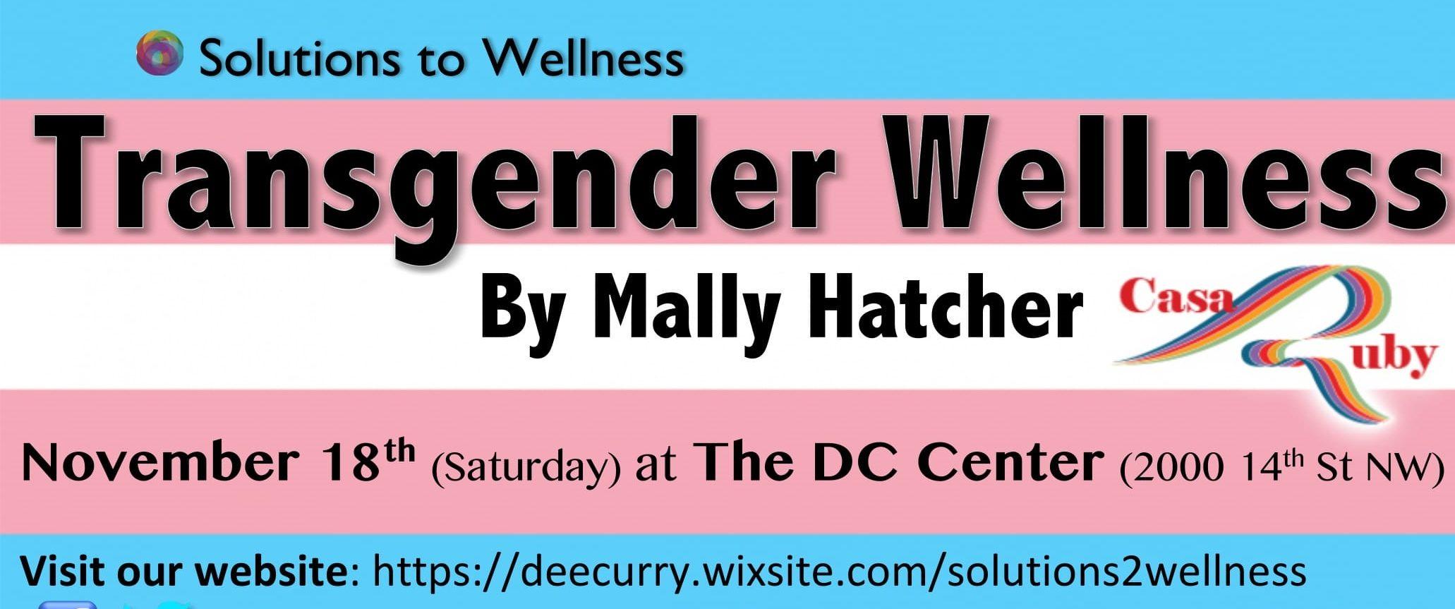 Transgender Wellness [Solutions to Wellness 2017]
