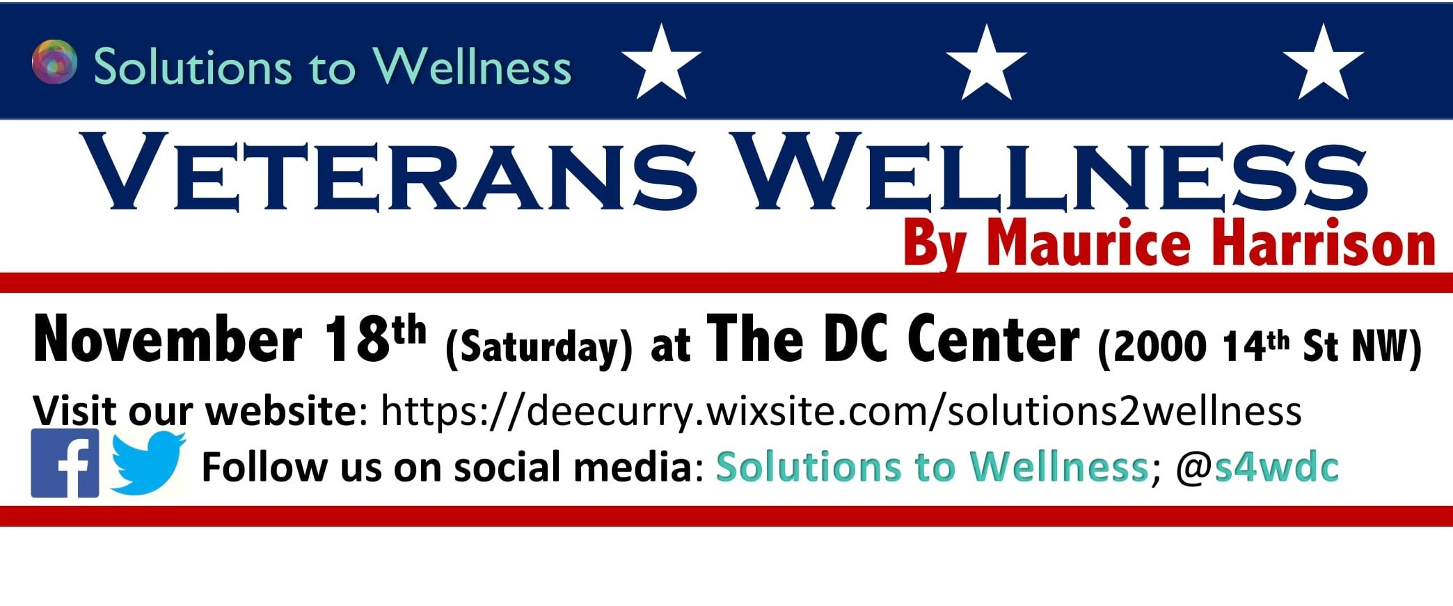 Veterans Affairs & Wellness [Solutions to Wellness 2017]