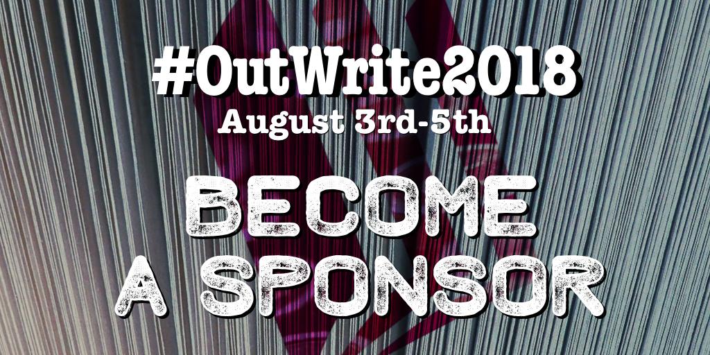 Sponsor the 2018 OutWrite LGBT Book Festival