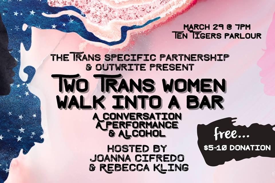 Two Trans Women Walk Into a Bar