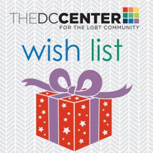 The DC Center Amazon Wish List