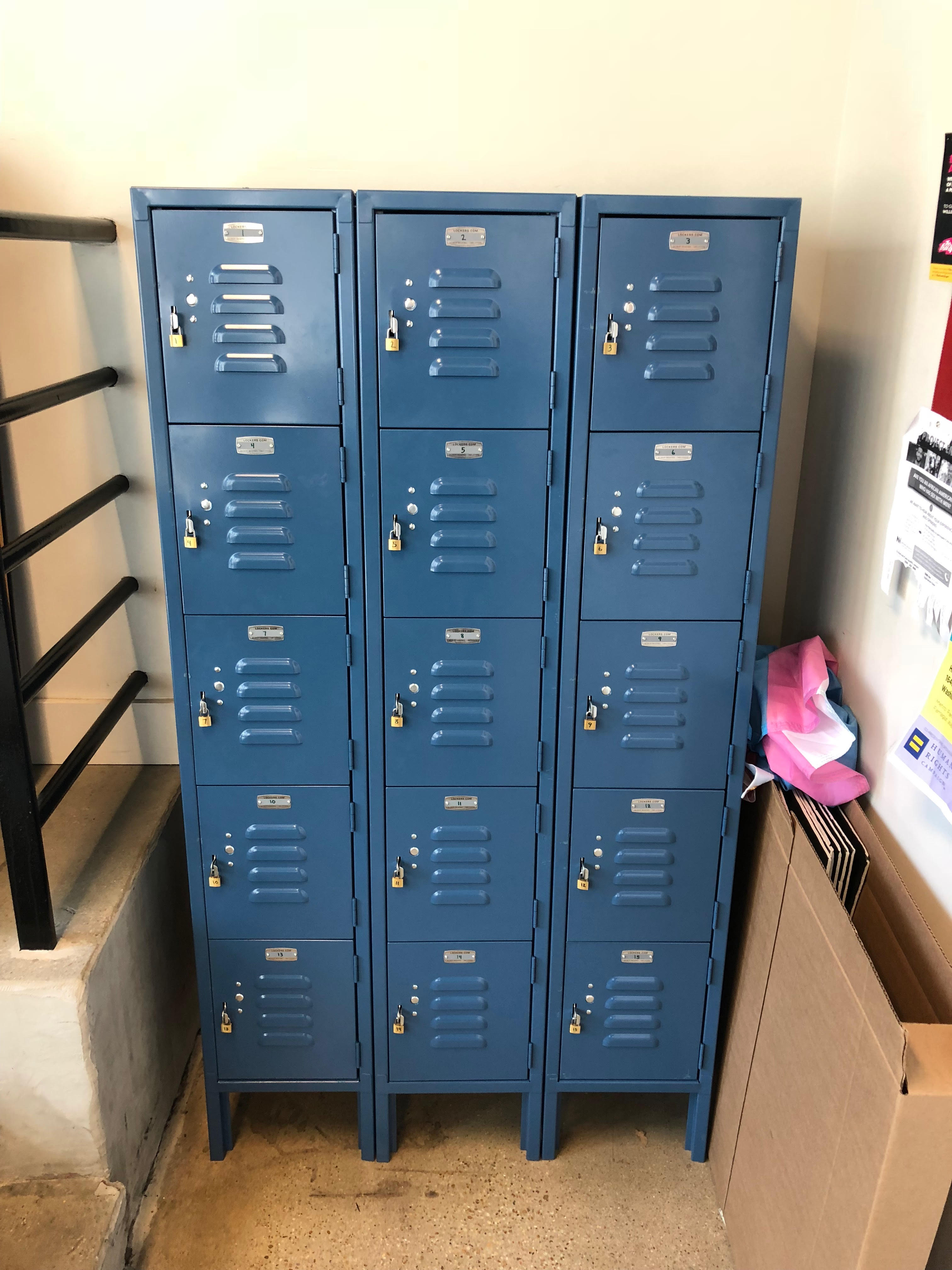 Lockers for LGBTQ Youth