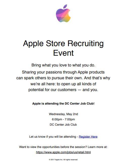 Job Club-Visit from Apple Inc.