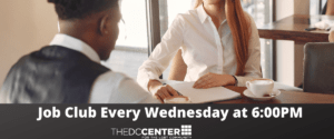 Job Club - Via Zoom