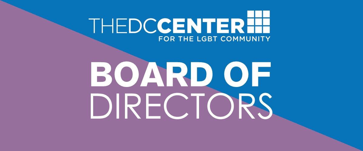the DC Center 2019 Board of Directors