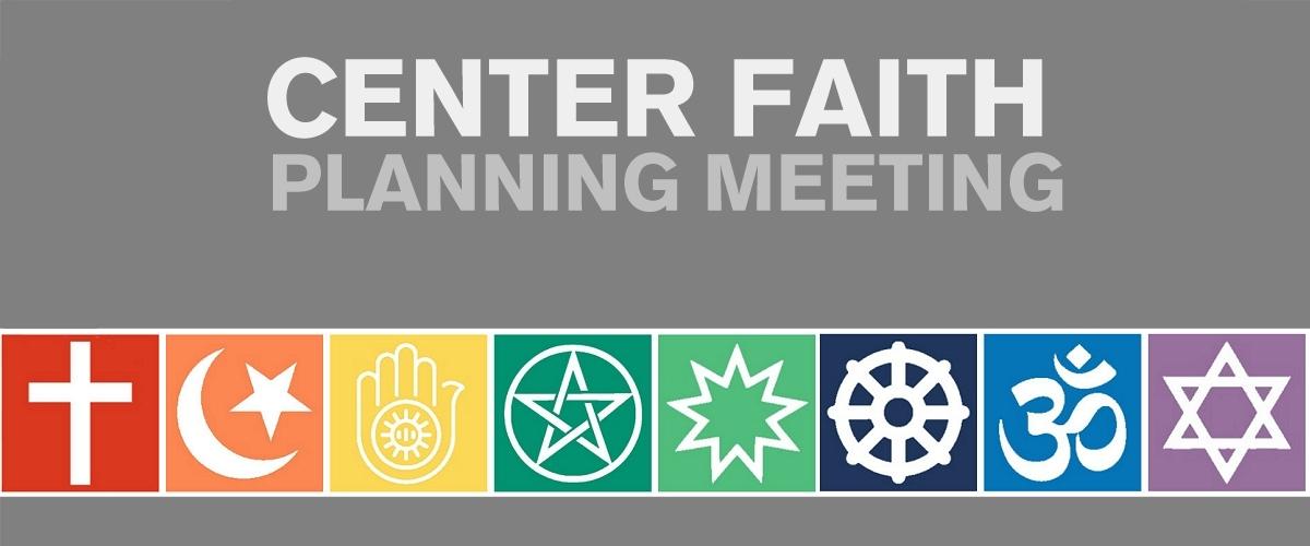 Center Faith Planning Meeting