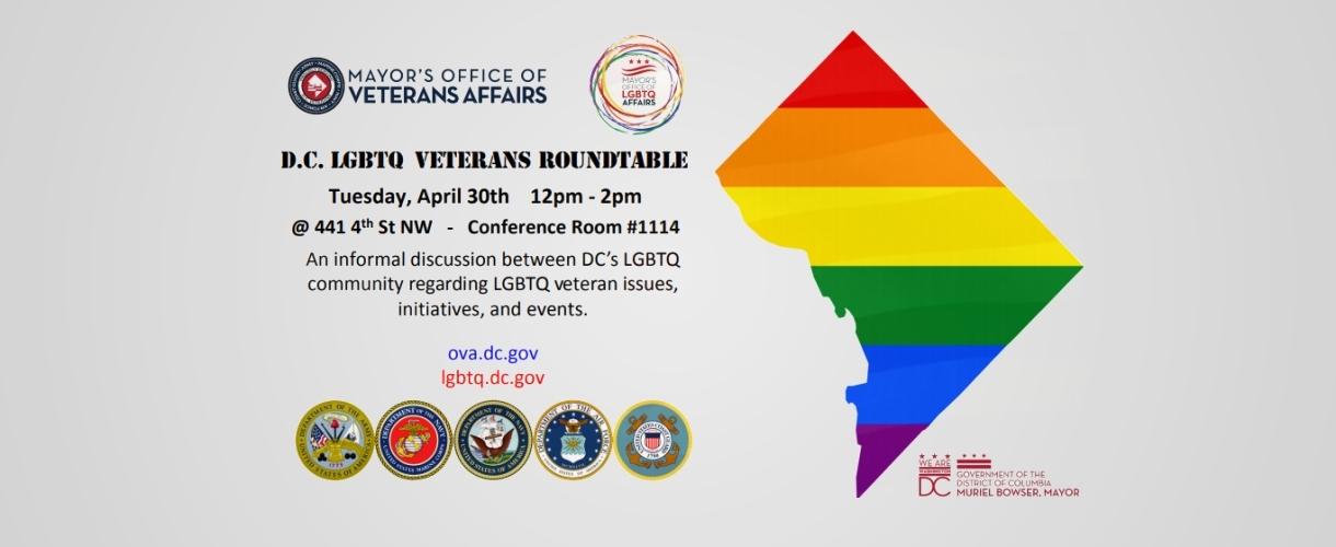 DC LGBTQ Veterans Roundtable
