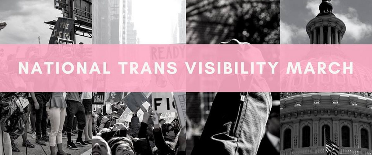 National Trans Visibility March Logo