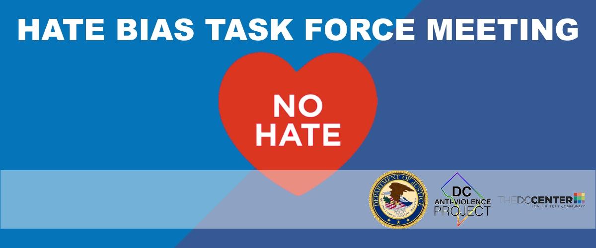 Hate Bias Task Force Meeting