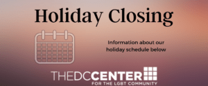 Center Closed – Veterans Day