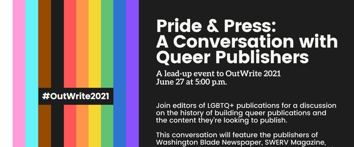 Pride & Press Event Information