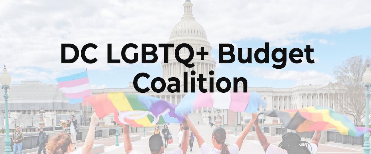 DC LGBTQ+ Budget Coalition