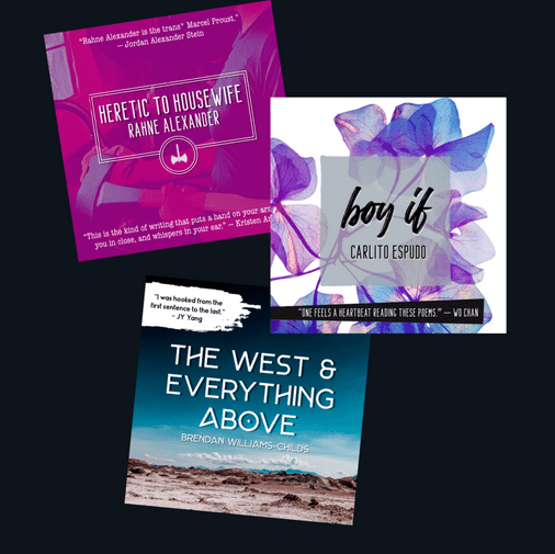 OutWrite 2019 chapbook competition winners published by Neon Hemlock Press
