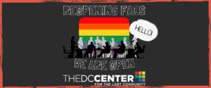 DC Center Reopening FAQ